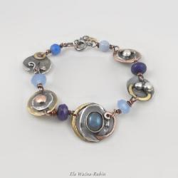 artystyczna,handmade,artjewelry - Bransoletki - Biżuteria