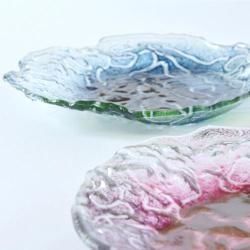 prezent ślubny,talerzyki deserowe,na ślub,szkło - Ceramika i szkło - Wyposażenie wnętrz