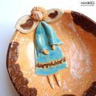 Ceramika i szkło miseczka,aniołek,mimbres,misa