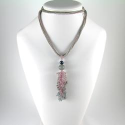 elegancki,delikatny,długi,kobiecy,nostalgiczny - Wisiory - Biżuteria