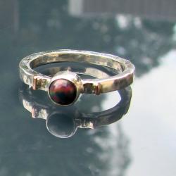 delikatny,subtelny,z dodatkiem złota - Pierścionki - Biżuteria