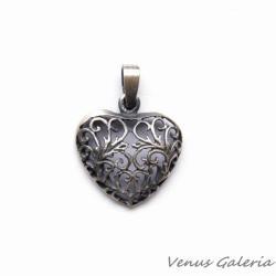 srebro,oksyda,wisiorek - Wisiory - Biżuteria