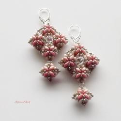 na uszy,z koralików,na prezent - Kolczyki - Biżuteria