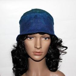 filcowany kapelusz,czapka filcowana - Inne - Dodatki