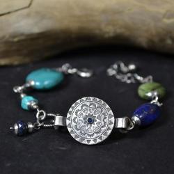 letnia bransoleta,oksydowana, - Bransoletki - Biżuteria