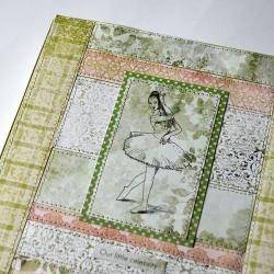 organizer,kalendarz,baletnica,patchwork - Notesy - Akcesoria