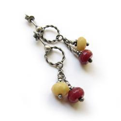 krótkie,radosne,wiszące,wesołe - Kolczyki - Biżuteria
