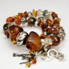 Bransoletki bransoleta,biżuteria z bursztynu,agat