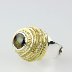 pierścionek,sygnet,srebro,agat,unikat - Pierścionki - Biżuteria