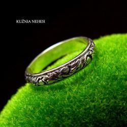 Nehesi,Pierścień,Ze Srebra,obraczka - Pierścionki - Biżuteria