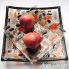 Ceramika i szkło patera na ciasto,komplet,talerz
