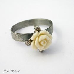 elegancki,romantyczny,róża - Pierścionki - Biżuteria