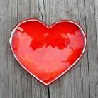 Ceramika i szkło serce,serduszko,miseczka,romantyczna,ognista