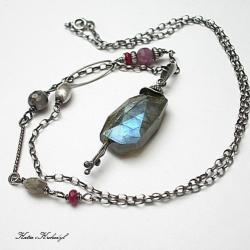 eleganckie,mystic,surowy - Naszyjniki - Biżuteria