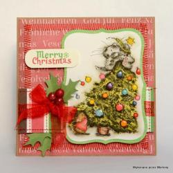 katka,kartka świąteczna - Kartki okolicznościowe - Akcesoria