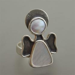 pierścionek aniołek - Pierścionki - Biżuteria