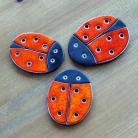 Magnesy na lodówkę biedronka,magnesy,ceramiczne,biedronki