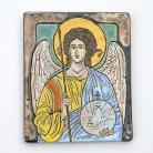 Obrazy anioł,ikona,ceramika,obraz
