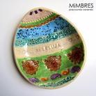 Ceramika i szkło jajko,miseczka,mimbres