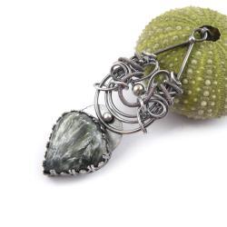 wisior,wrapping,zielony,misterny - Wisiory - Biżuteria