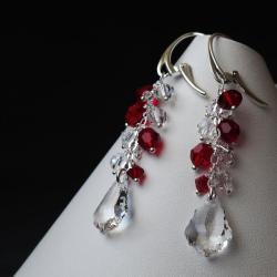 kolczyki z kryształami Swarovski - Kolczyki - Biżuteria