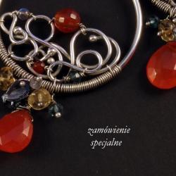 biżuteria wire-wrapping na zamówienie - Inne - Biżuteria