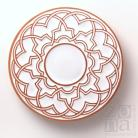 Ceramika i szkło podstawka,talerzyk,podkładka,ceramika,biały