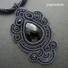 Wisiory elegancki,unikalny,haft koralikowy,gotycki
